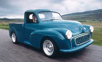 Tell Me About Morris Minor Pick Ups Retro Rides