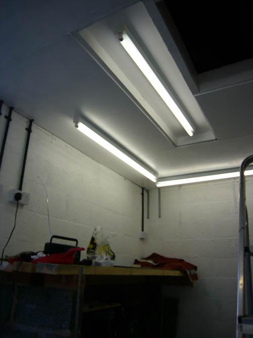 Garage Lighting Page 1 General, Strip Lights For Garage