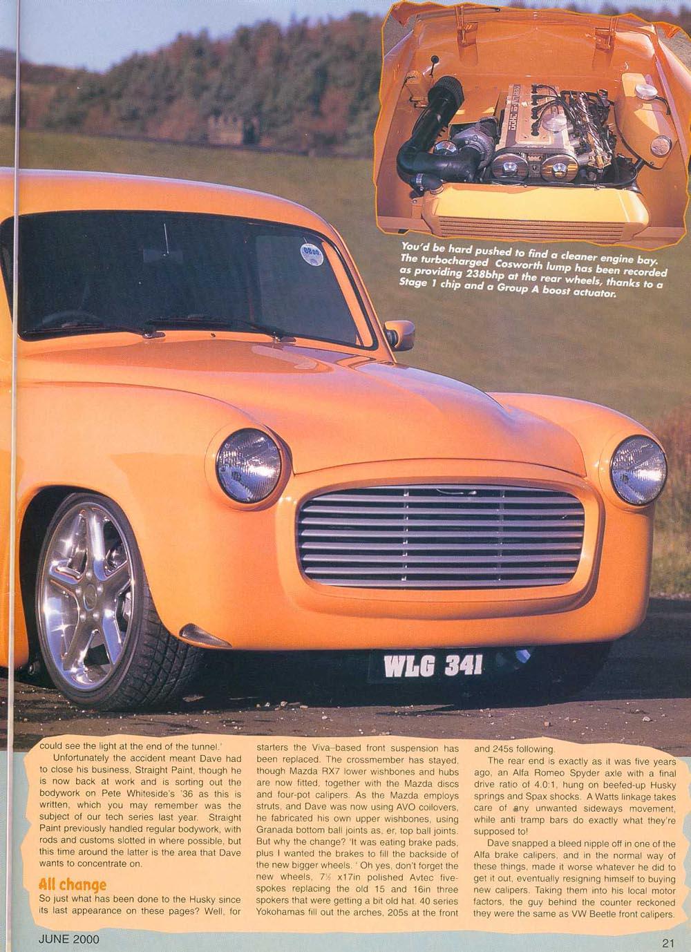 Beardmore Bros Rapid Plumbing Custom Car Magazine Article Page 2