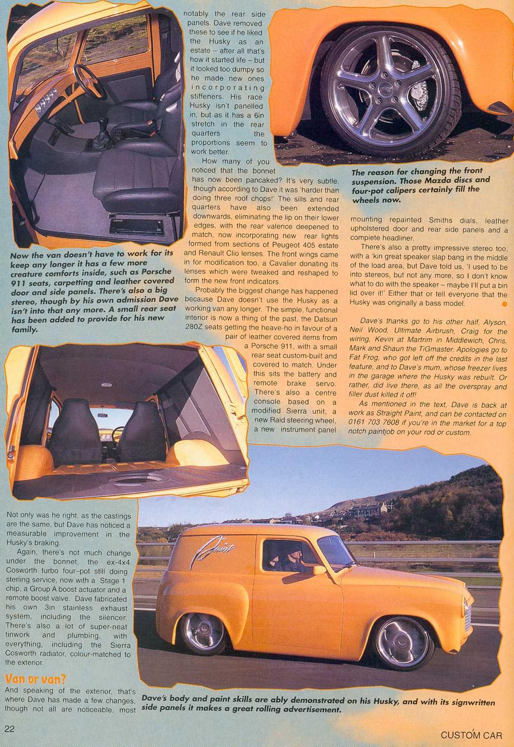 Rapid Plumbing Custom Car Article page 3